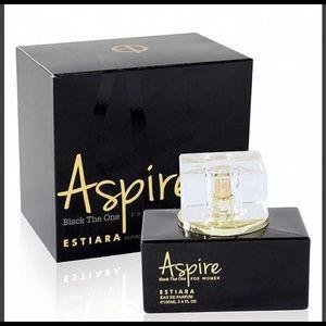 Aspire Black the one fragrance perfume for MEN